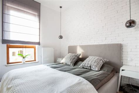 bedroom with white walls 50 awe inspiring white brick walls shaping airiness indoors