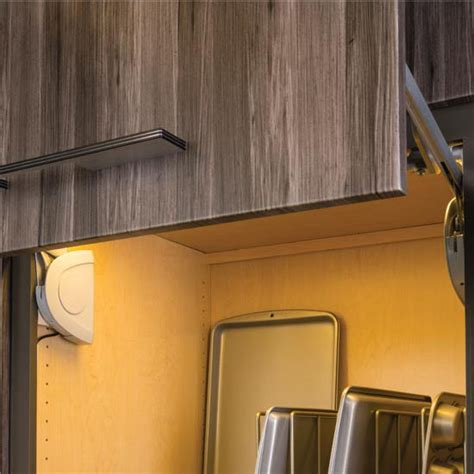 Cabinet Door Lift Strato Lift Up Fitting For Cabinet Doors Soft Silent Closing Matt Chrome Silver By Hafele