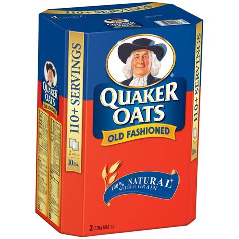 whole grain quaker oats quaker oats 100 whole grain 1 minute oatmeal from