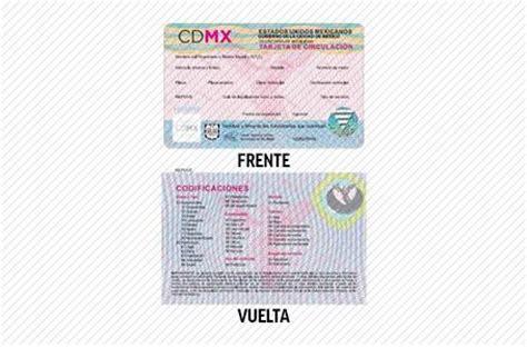 tarjeta circulacin nueva la economia y las nuevas placas de la cdmx lucen as 237 sopitas com