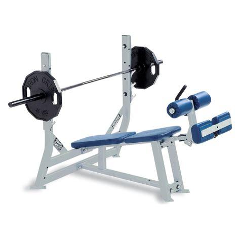declined bench press strefa wolnych ciężar 243 w hammer strength centrum formy