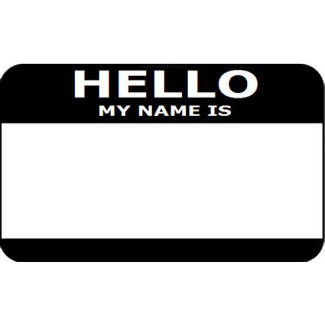 printable name tags hello my name is hello my name is tags printable best photos of hello my