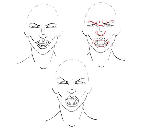 Angry Person Drawing
