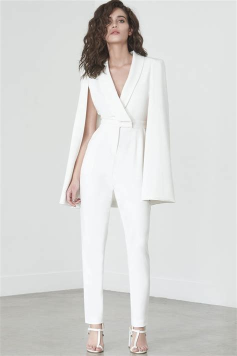 25 best ideas about white jumpsuit on wedding