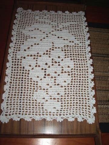 tapetes en croche con figuras dise 241 os de tapetes de ganchillo rectangulares para muebles
