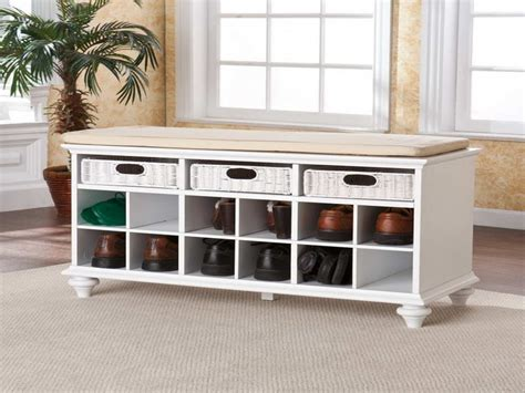 hallway benches with shoe storage bloombety entryway benches with storage with shoe
