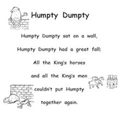 full humpty dumpty nursery rhyme 1000 images about humpty dumpty on pinterest humpty