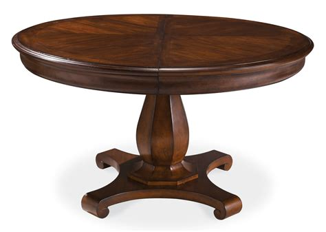 Dining Room Table Pedestal by Art Margaux Round Dining Table 166224 2630
