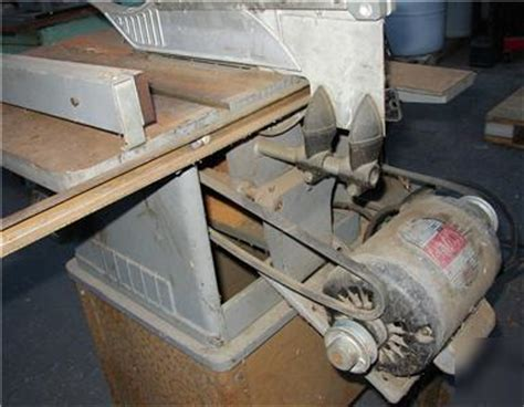 vintage delta rockwell table saw vintage craftsman table saw and jointer pictures to pin on