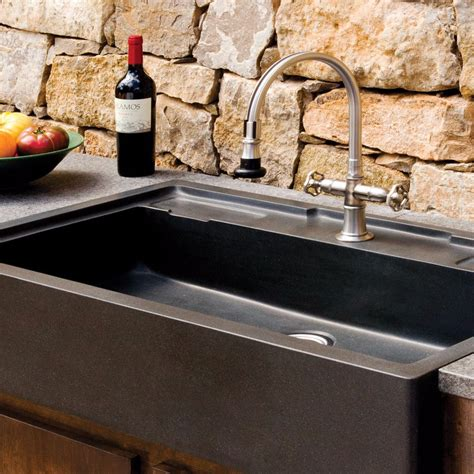 stone kitchen sinks salus outdoor kitchen sink stone forest