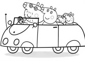 peppa pigs dinosaur coloring pages