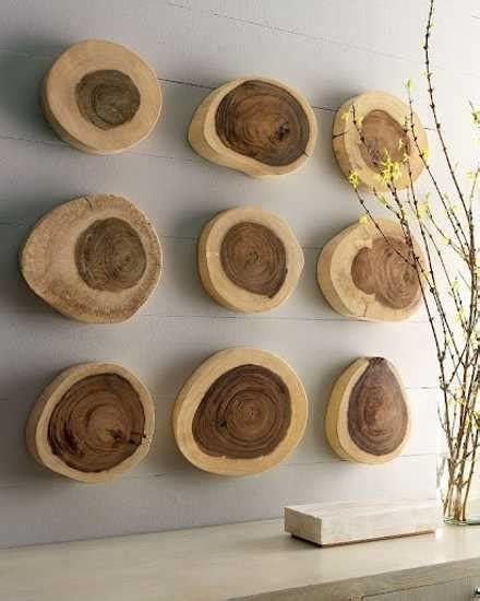 home made decoration pieces 33 interior decorating ideas bringing natural materials