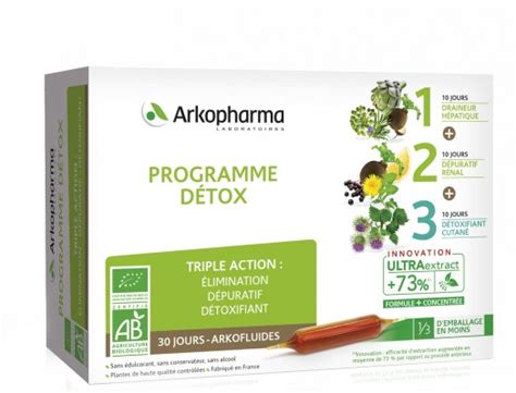 4321 Detox Reviews by Arkofluides 174 Programme D 233 Tox Bio Arkopharma