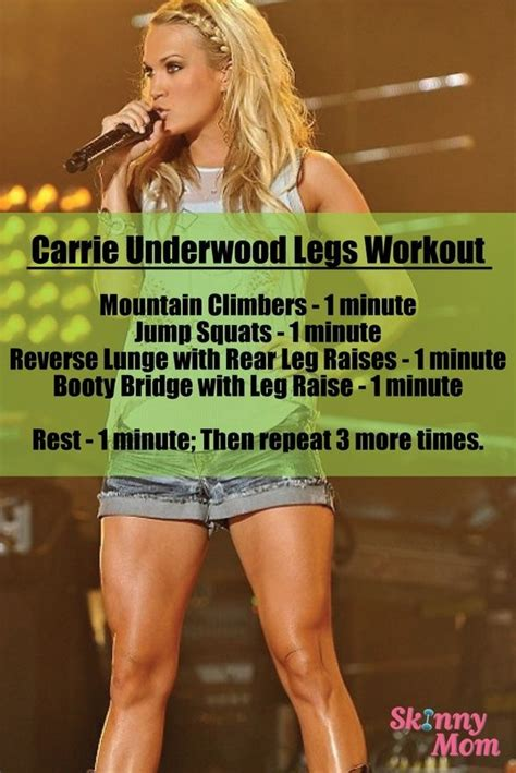 carrie underwood body carrie underwood s legs workout 22 leg workouts you must be