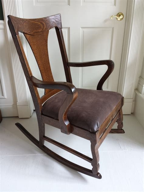 stamp  rocking chair  antique furniture collection