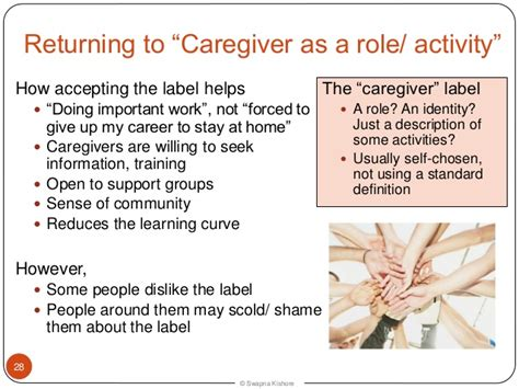 dementia caregivers introducing the caregivers presentation at ards