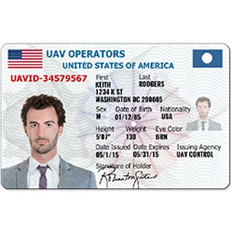 Us Id Card Template by Idcreator Custom Photo Id Cards And Badges Free Id