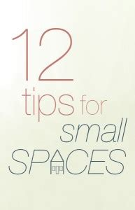 tips for small spaces relev 233 design