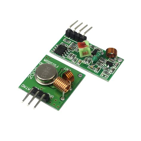 Terbaru 433mhz Rf Wireless Receiver Transmitter Arduino Arm Mcu 433mhz rf transmitter and receiver module link kit for