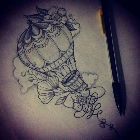 balloon tattoos designs 25 best ideas about air balloon on