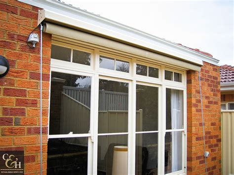 Fixed Window Awnings by Cbell Heeps Fixed Guide Awnings