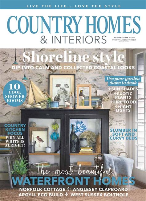 country homes interiors magazine august 2018