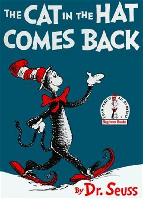 cat in the hat pictures from the book the cat in the hat comes back by dr seuss reviews