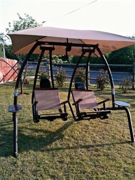 sunset swings 422p dual recliner pendulum swing sunset swing 422 best price w free shipping