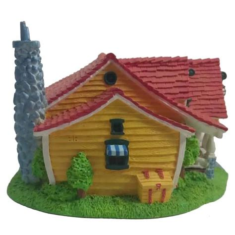 Disney Official Minnie Toontown House Ceramic - disney figurine mickey s toontown sculpture mickey mouse