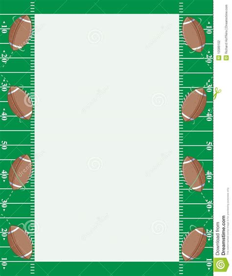 American Football Borders And Frames
