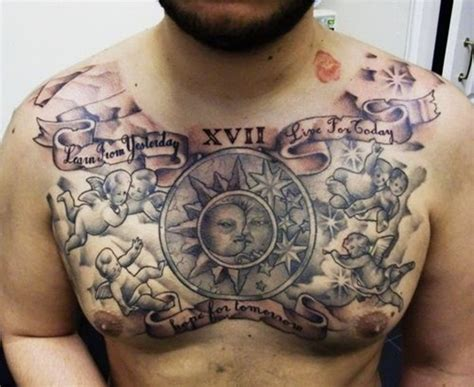 tattoo on upper chest 30 best chest tattoos for men