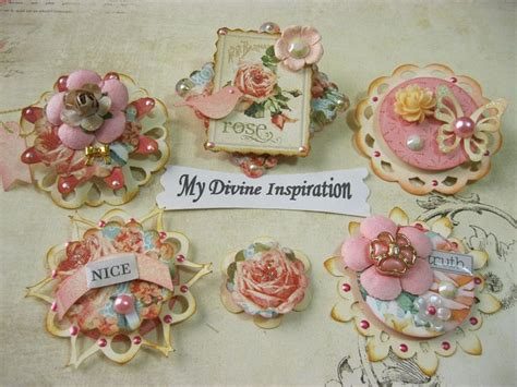 Handmade Embellishments For Scrapbooking - 1000 ideas about scrapbook embellishments on