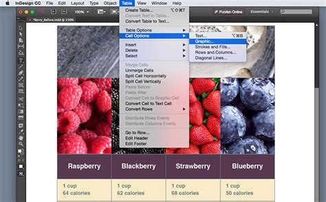 tutorial adobe indesign cc 2015 insert images in a table cell in indesign adobe indesign