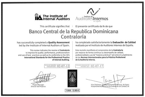 banco central de la republica dominicana nomina del banco central