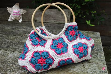 african flower crochet pattern bag crochet pattern african flower bag