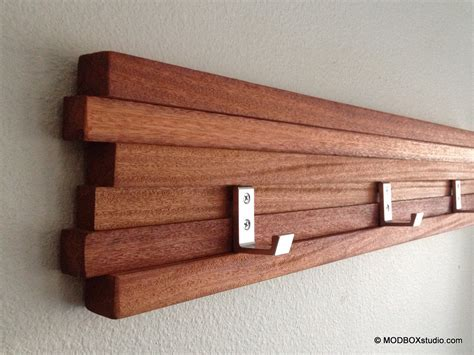 modern coat hooks coat rack 5 hook modern key hat minimalist wall hanging w 5