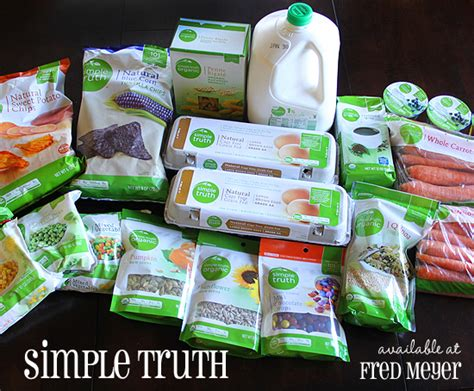 Fred Meyer Gift Card Online - fred meyer simple truth products affordable healthy enter to win a 50 fred meyer