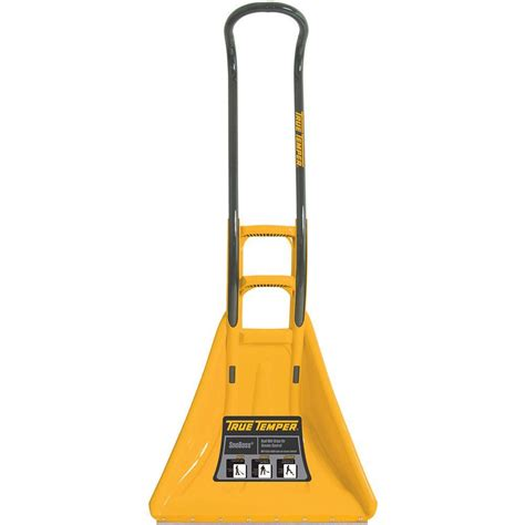 true temper snoboss 26 in snow shovel 1625300 the home