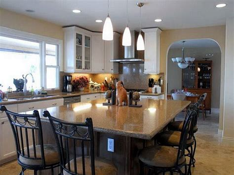 kitchen island and dining table kitchen picture of traditional kitchen islands dining