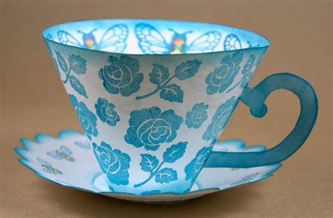 Paper Cup Craft - 52 best tea cup crafts images on tea time