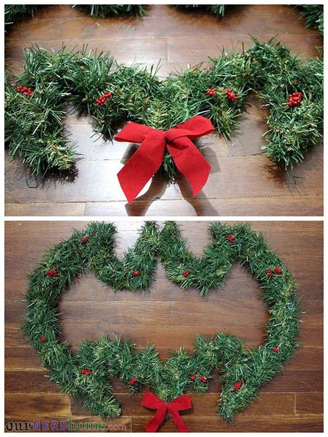 diy batman wreath our nerd home wreaths pinterest