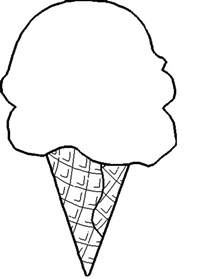 breaking ice cream cone coloring pages bulk color