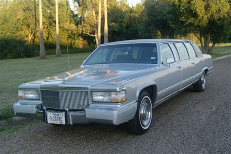 cadillac limousine 1991 cadillac limousine classic cadillac brougham 1991