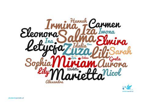 estera znaczenie imienia ranking imion 2015 statystyka najczęściej i najrzadziej
