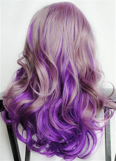 purple brown hair color purple hair color vpfashion