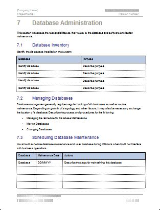 admin specific template in progress system administration guide template technical writing tips