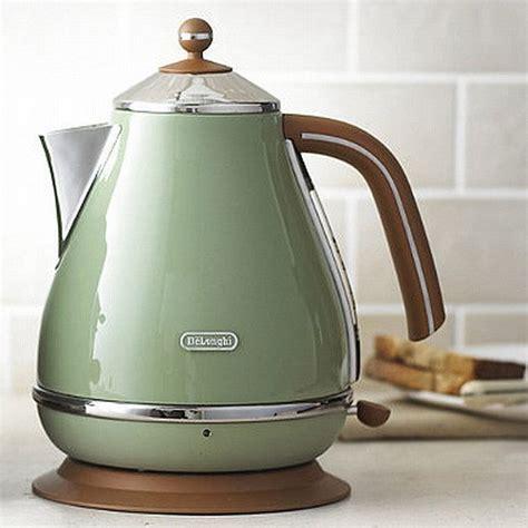 delonghi kbov3001gr icona vintage czajnik elektryczny zielony agd do kuchni czajniki