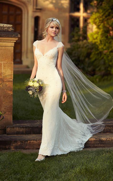wedding dresses sheath bridal gown essense  australia