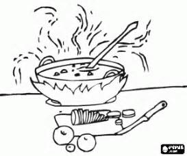 Soup Kitchen Coloring Pages