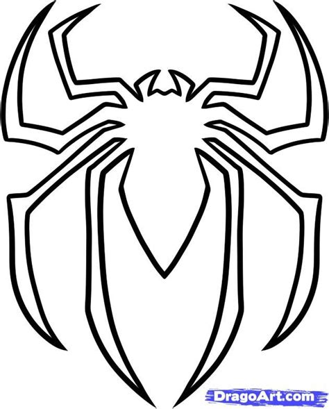 spiderman logo google search templates pinterest